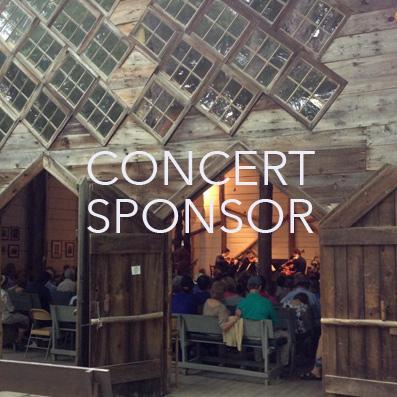 Concert sponsor