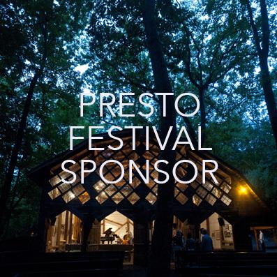 presto festival sponsor