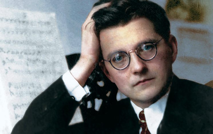 Dmitri Shostakovich (25 September 1906 – 9 August 1975)