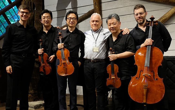 Shanghai Quartet with David Wiebe